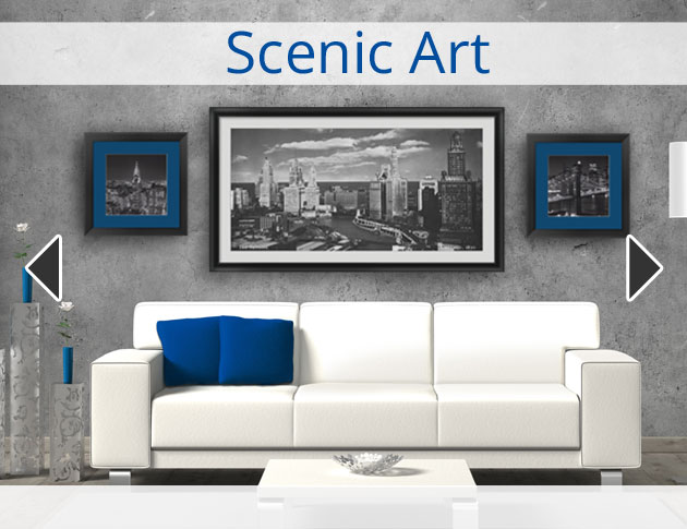 Canvas Scenic Art