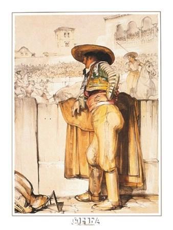The Matador by T.f. Lewis art print