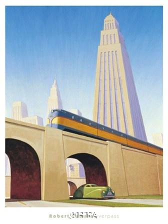 Overpass by Robert LaDuke art print