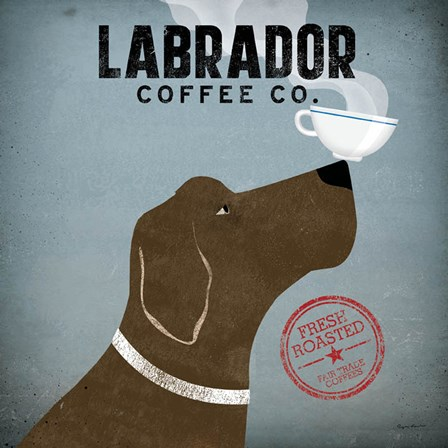 Labrador Coffee Co. by Ryan Fowler art print