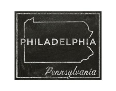 Philadelphia, Pennsylvania by John W. Golden art print
