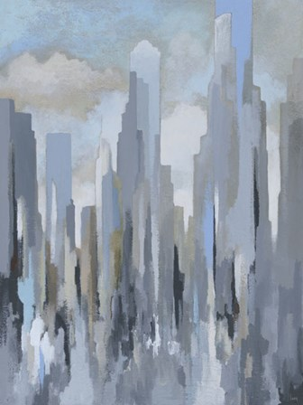 Midtown Towers by Gregory Lang art print