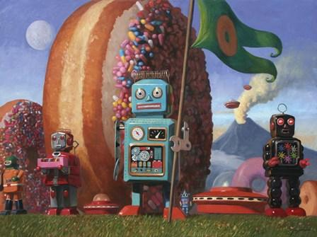 Landing Party 7 by Eric Joyner art print