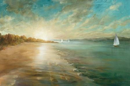 Coastal Glow by Danhui Nai art print