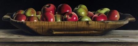 Apple Trencher by Pauline Eble Campanelli art print