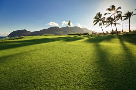 Golf Course, Kauai Lagoons, Kauai, Hawaii by Panoramic Images art print