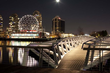 Telus World of Science, False Creek, Vancouver, British Columbia, Canada by Panoramic Images art print