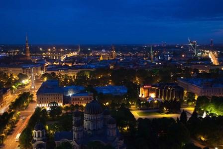 Vecriga, Old Riga, Riga, Latvia by Panoramic Images art print