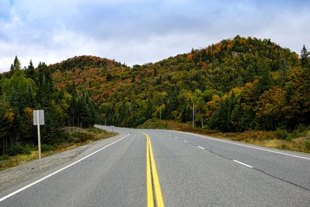Trans-Canada Highway, Canada by Panoramic Images art print