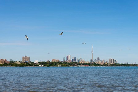 Waterfront City, Toronto, Ontario, Canada by Panoramic Images art print