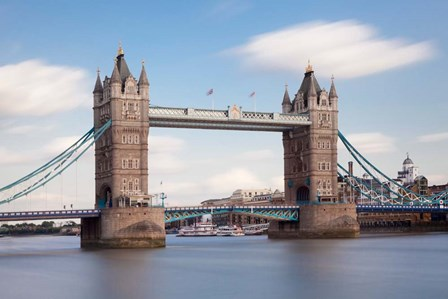 Tower Bridge, Thames River, London, England by Panoramic Images art print