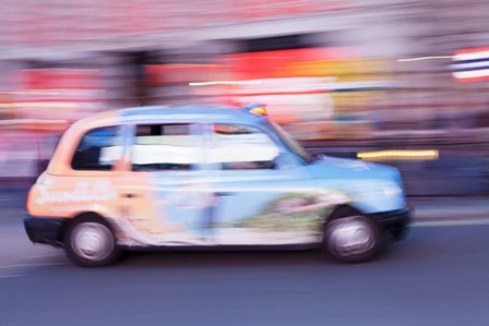 Piccadilly Circus, City of Westminster, London, England by Panoramic Images art print