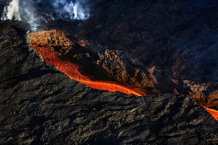 Volcano Eruption, Bardarbunga Volcano, Iceland by Panoramic Images art print