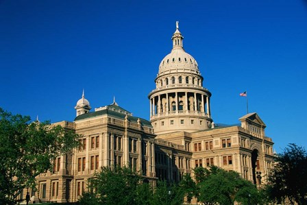 State Capitol Building, Austin, TX by Panoramic Images art print
