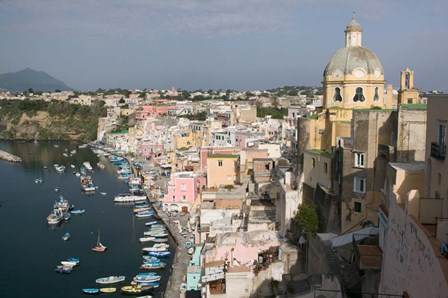 Procida, Naples, Campania, Italy by Panoramic Images art print