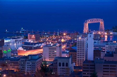 Canal Park, Duluth, Minnesota by Panoramic Images art print