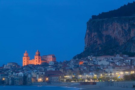 Cefalu, Sicily, Italy by Panoramic Images art print