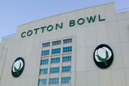 Cotton Bowl Stadium, Fair Park, Dallas, Texas by Panoramic Images art print