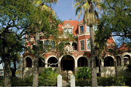 Moody Mansion and Museum, Galveston, Texas by Panoramic Images art print