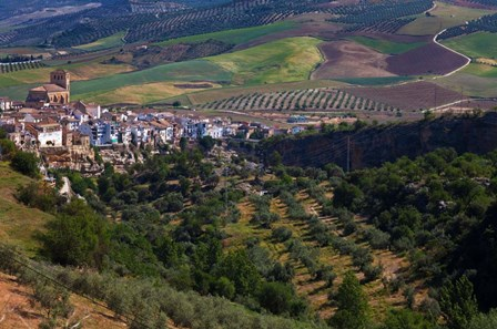 Village of Alhama de Granada, Granada Province, Andalucia, Spain by Panoramic Images art print