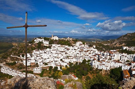 The Village of Casares, Malaga Province, Andalucia, Spain by Panoramic Images art print