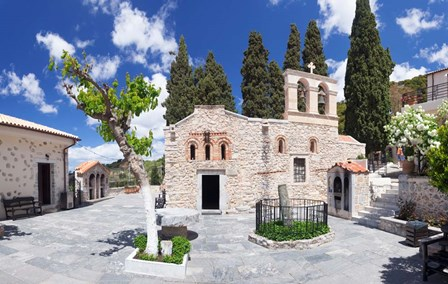 Keras Kardiotissas Monastery, Kera, Crete, Greece by Panoramic Images art print