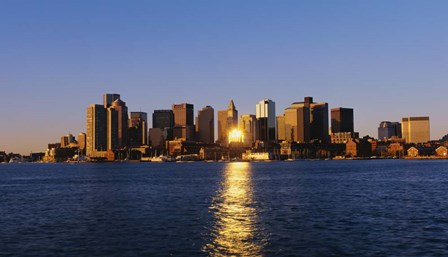 Inner Harbor, Boston, MA by Panoramic Images art print