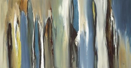 Fields of Blue by Lisa Ridgers art print