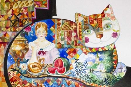 Russian by Oxana Zaika art print