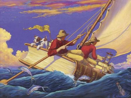 Set Sail by Christopher Nick art print
