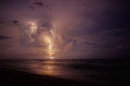 Spooky Lightning by Chris Smith art print