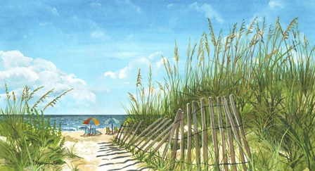 Beach Path by Cindy Fornataro art print