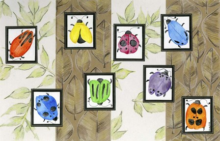 Bugs I by Claudia Interrante art print