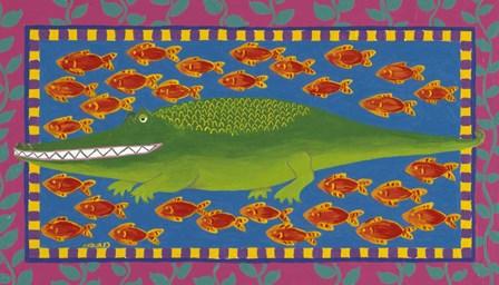 Fish by Claudia Interrante art print