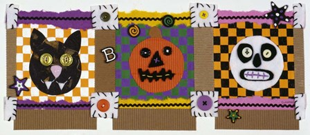 Halloween by Claudia Interrante art print