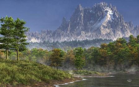 Happy River Valley by Daniel Eskridge art print
