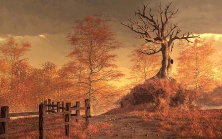 The Dead Tree by Daniel Eskridge art print