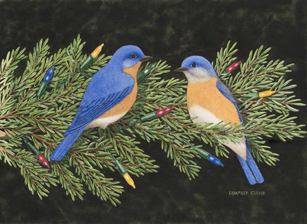 Christmas Blues by Dempsey Essick art print
