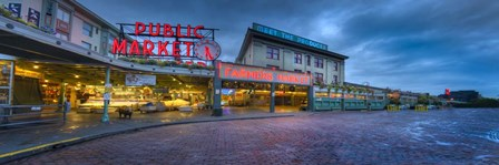 Pike Place Seattle by Doug Cavanah art print