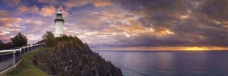 Cape Byron LIghthouse by Doug Cavanah art print