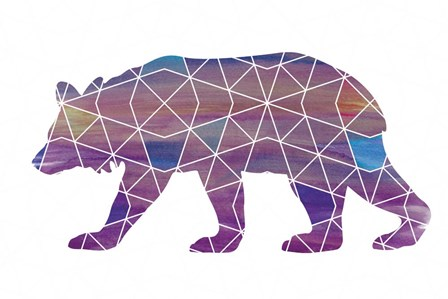 Bear - Ombre by Erin Clark art print