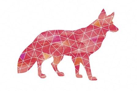 Fox by Erin Clark art print