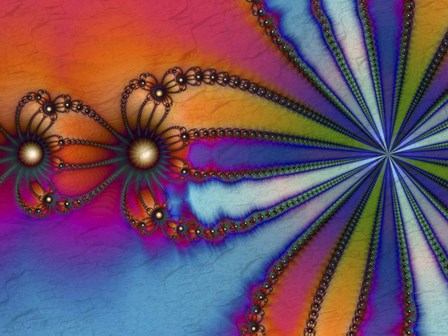 Tie Dye by Fractalicious art print