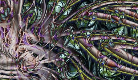 Deep Sea 1 by Fractalicious art print
