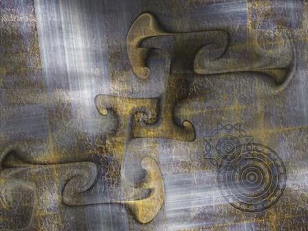 Rift by Fractalicious art print