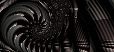 Below by Fractalicious art print