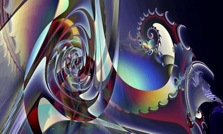Transit by Fractalicious art print