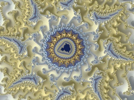 Cameo by Fractalicious art print