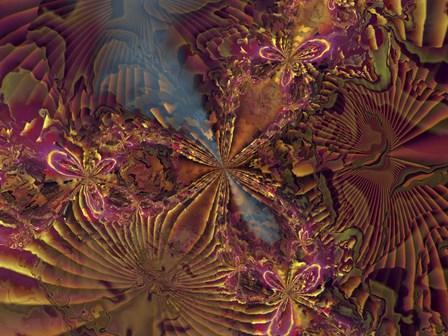 Moxy by Fractalicious art print