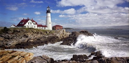 Portland Head Light by Mike Jones Photo art print